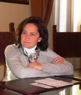 Roberta Fioravanti, conduttrice del Concerto di Natale
