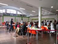 Un pranzo di Natale alla mensa Caritas