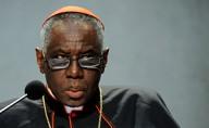 "cardinale Robert Sarah, presidente Pontificio Consiglio ""Cor Unum"""