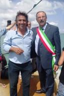 Riccardo Padovano con il vice sindaco Del Vecchio
