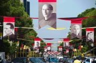 Tirana, la capitale albanese, in fermento per la visita di Papa Francesco