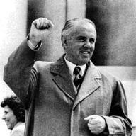 Enver Hoxha, dittatore albanese al potere dal 1944 al 1985