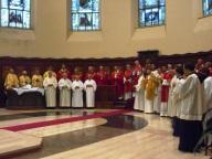 Il cardinale Comastri concelebra con i sacerdoti del capitolo metropolitano