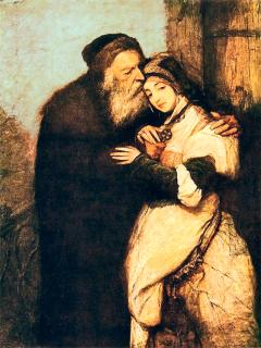 Maurycy Gottlieb (1856-1879), Shylock e Jessica