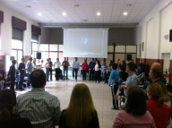Un momento del primo incontro di Oratori 20.20