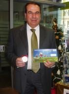 Francesco Polidoro, direttore della Filiale pescarese di Poste Italiane