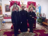 Padre Iarca Alin con don Emilio Lonzi e don Achille Vilanucci
