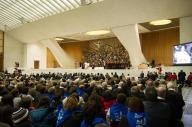 I fedeli presenti nell'Aula Paolo VI per l'udienza generale