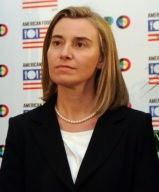 Federica Mogherini, Alto rappresentate per la politica estera Ue