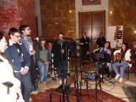 La band musicale della parrocchia di San Gabriele dell'Addolorata in Pescara