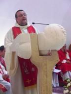 Mons. Tommaso Valentinetti pronuncia l'omelia
