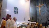 L'altare del Santuario del Beato Nunzio Sulprizio