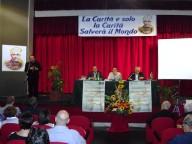 Il palco del relatori