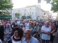 Erano numerosi i fedeli alla processione del Corpus Domini