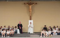Papa Francesco presiede la Santa Messa in piazza Vittorio