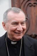 Cardinale Pietro Parolin, segretario di Stato Vaticano