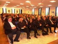 Oltre 200 i presenti allincontro, tra vescovi, arcivescovi e sacerdoti