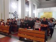 Tante le famiglie e i fedeli che ieri sera hanno partecipato alla Veglia diocesana