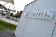 L'ingresso del padiglione Caritas all'Expo di Milano