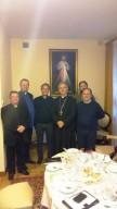 La delegazione pescarese insieme al vescovo di Kielce, monsignor Jan Piotrowski