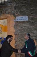 Il presidente nazionale Matteo Truffelli e il sindaco di Pollutri Antonio Di Pietro