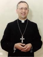 Monsignor D'Addario, al tempo vescovo di Manfredonia e San Giovanni Rotondo