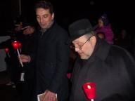Il sindaco di Montesilvano Maragno con l'arcivescovo Valentinetti