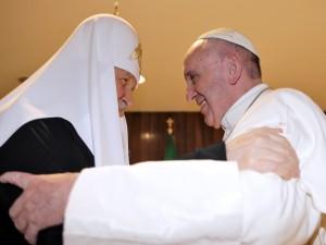 Papa Francesco e Patriarca Kirill