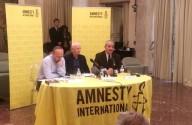 La presentazione del Rapporto di Amnesty International