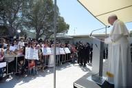 Il discorso di Papa Francesco a Lesbo