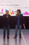 A sinistra Francesco Forgione, già presidente della Commissione parlamentare antimafia