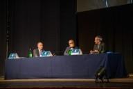 La presentazione del libro con Giovanni Legnini, Roberto Fontolan e Juliàn Carròn