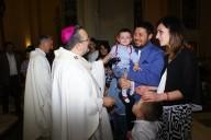 Mons. Valentinetti incontra una delle famiglie missionarie