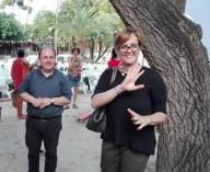 Don Marco Pagniello, direttore della Caritas pescarese e Marinella Scloco, assessore alle Politiche sociali della Regione Abruzzo