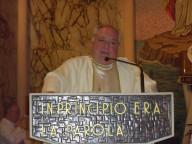 don Tonino, rettore del santuario
