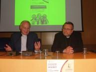 il professor Cencini insieme all'arcivescovo Valentinetti