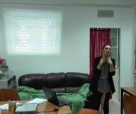 Federica Sozio, dottoressa del reparto Malattie infettive dell'Ospedale Civile di Pescara
