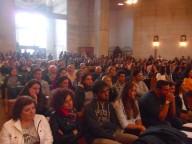 Centinaia i giovani giunti a Pescosansonesco dall'intera diocesi