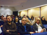Affollato l'Auditorium Petruzzi di Pescara per seguire l'apertura dell'anno accademico 2016-2017