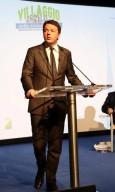 Uno degli interventi del premier Renzi a Pescara