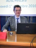 Giustino Parruti, infettivologo e direttore U.O.C. Malattie infettive Pescara