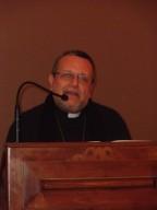 L'intervento di monsignor Tommaso Valentinetti, arcivescovo di Pescara-Penne