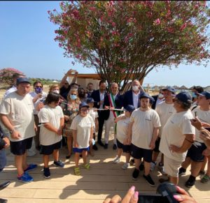 Inaugurata a Pescara la prima eco-spiaggia inclusiva e sostenibile